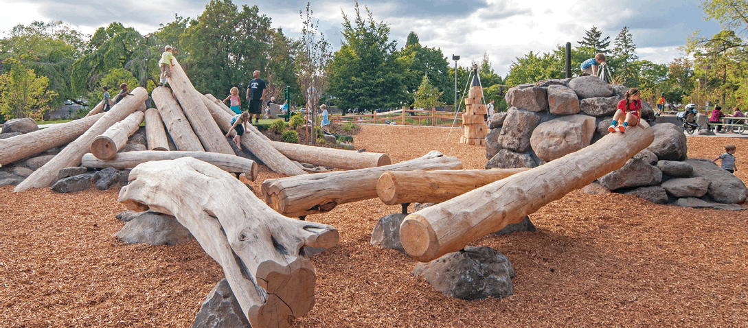 Natural Playgrounds Parkland Players Coquitlam Child