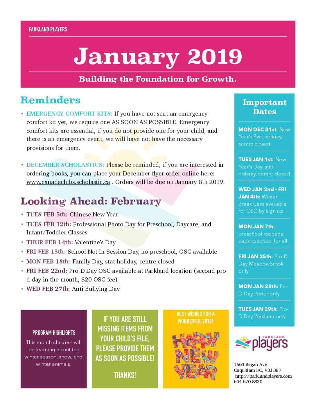 January-2019-Newsletter-1-pdf  Primary Newsletter Templates Pdf on create your own printable, hr employee, lds relief society, chino california, cover design, february responsive classroom, safety box winter,