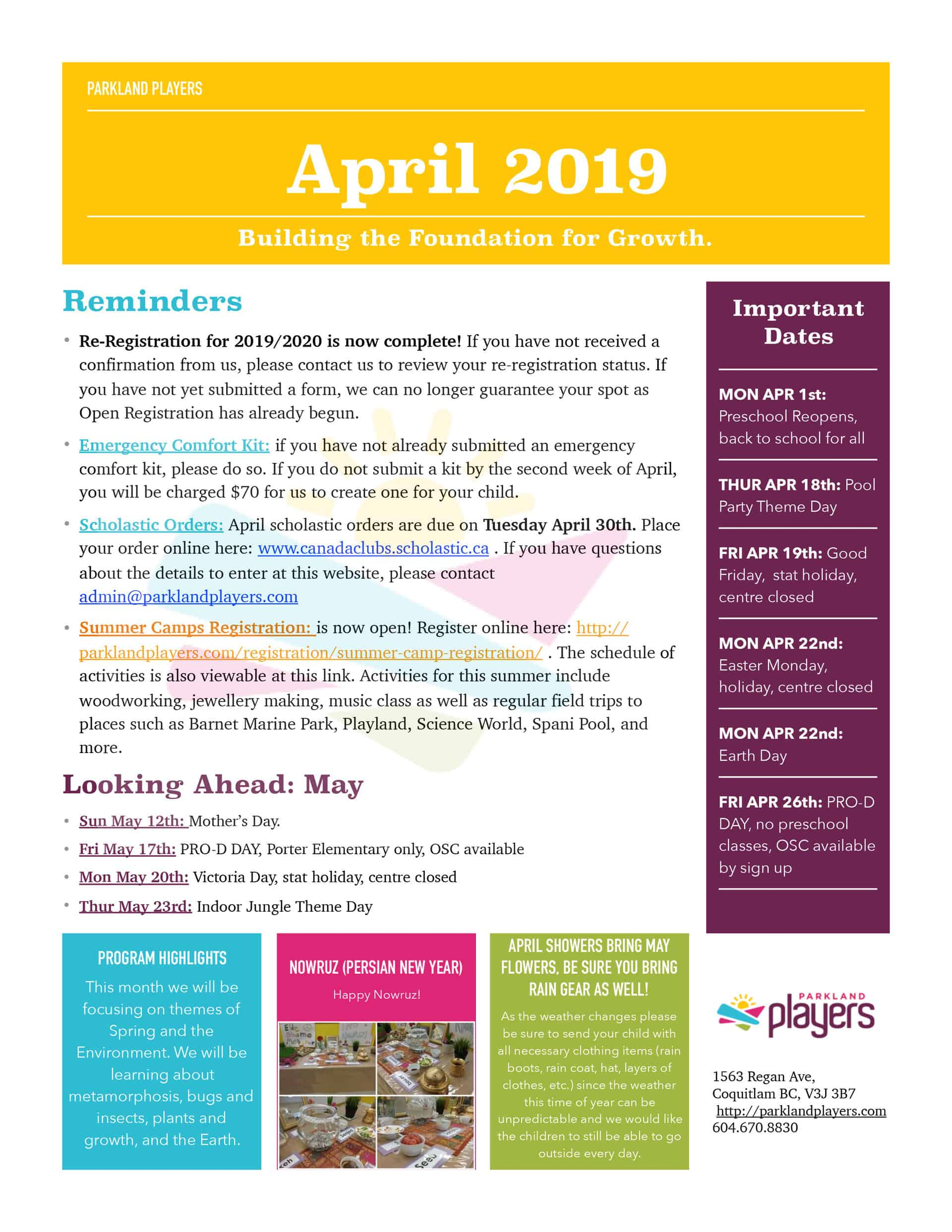 April-2019-Newsletter