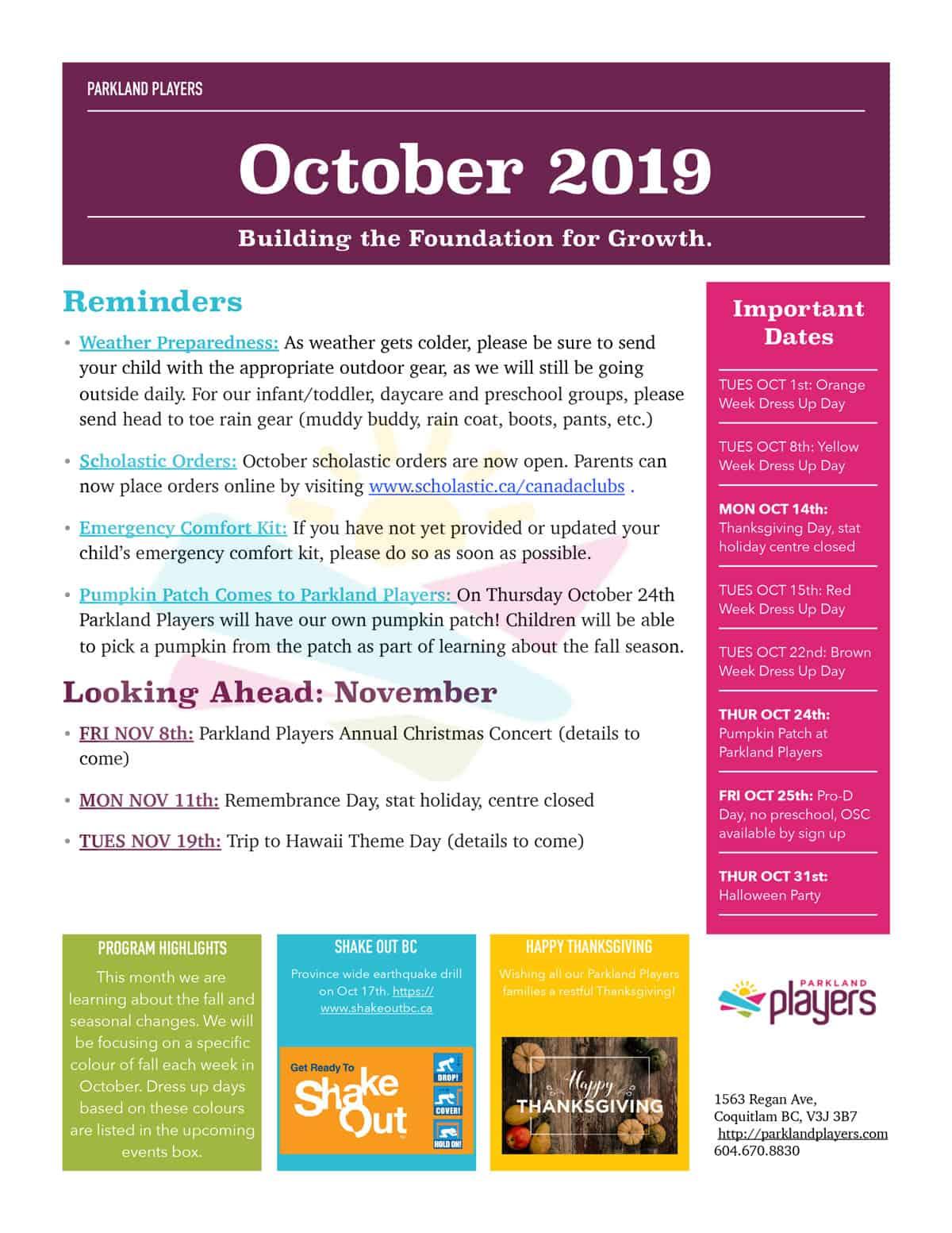 October-2019-Newsletter