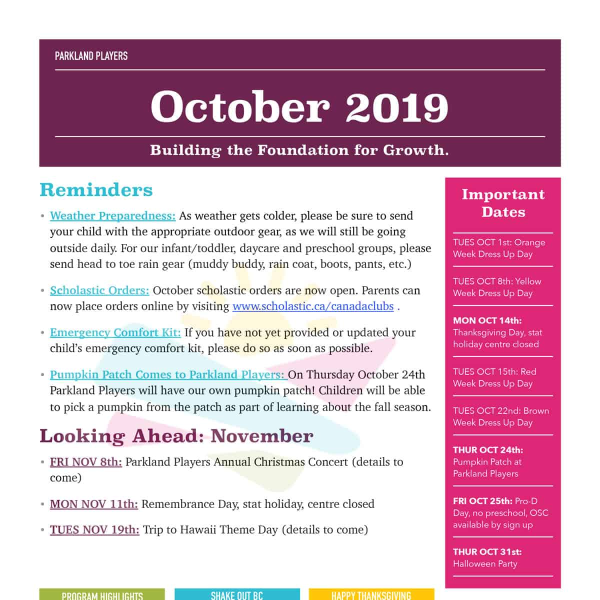 October-2019-Newsletter