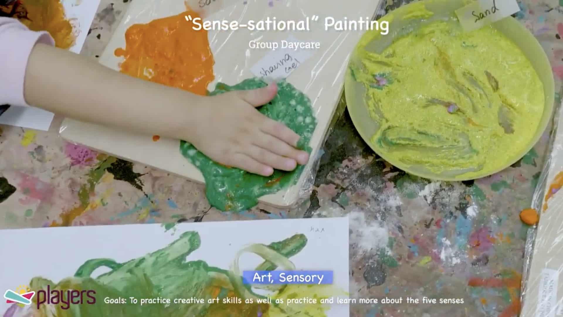 Summer Activity: Sensory Activity
